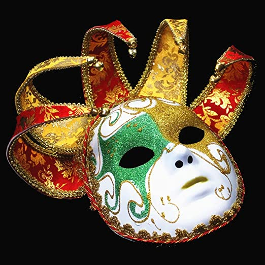 máscara Máscara Fiesta de Disfraces Cara Completa Máscara Pintada ...