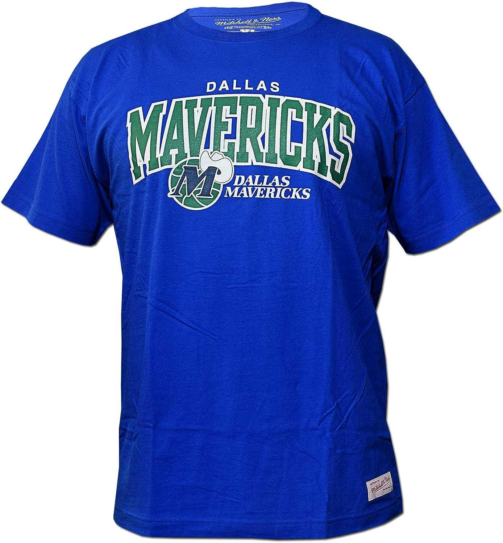 Mitchell & Ness Dallas Mavericks Team Arch NBA - Camiseta de Manga ...