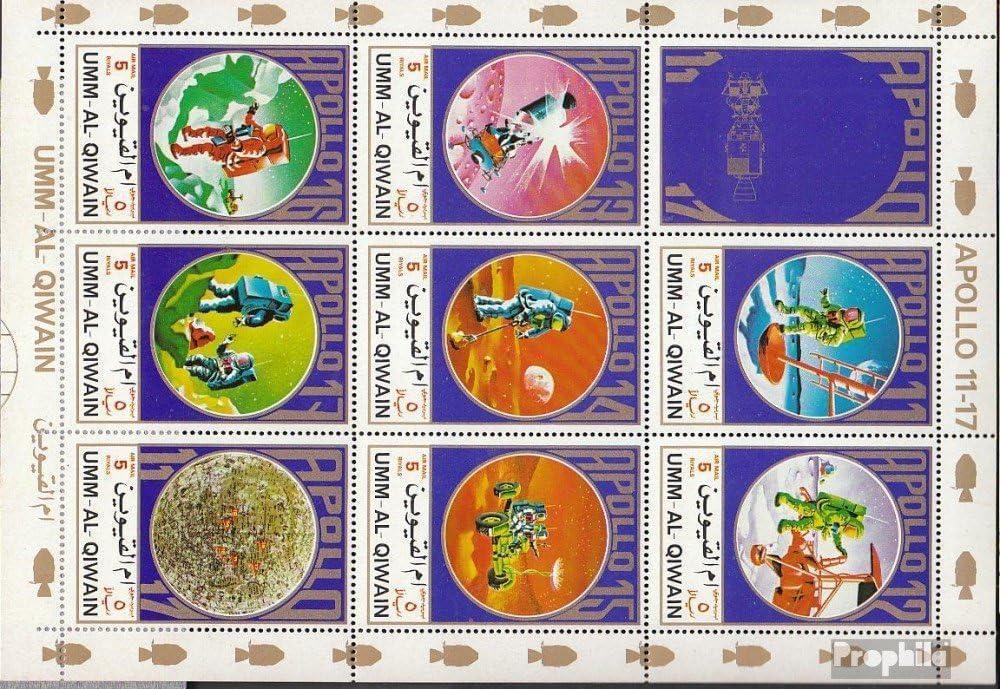 Amazon.com: UMM al Qaiwain 922A-929A Sheetlet (Complete ...