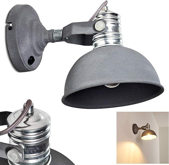 ☆ Soldes ☆ Honsel DEL Lampe murale Liana Chrome Verre Blanc Interrupteur Lampe De