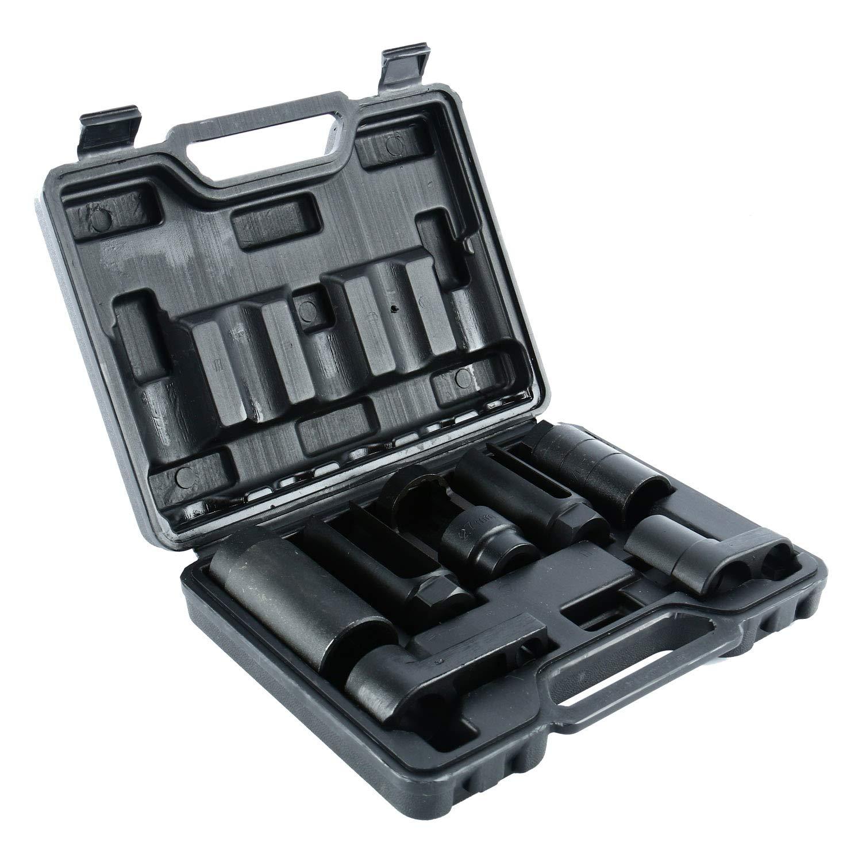 FreeTec//–/Sondas Lambda Sensor enchufe de vaso Sensor de Ox/ígeno Herramientas, 7/piezas