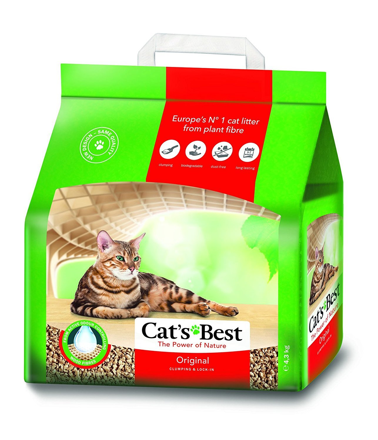 Oko Plus Clumping Litter 10ltr 5000g by JRS 09OKOP10