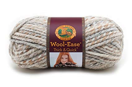 Amazon.com  Lion Brand Yarn 640-536 Wool-Ease Thick   Quick Yarn b9f8aa1ee4b
