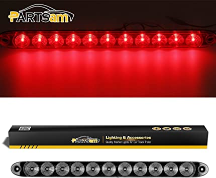 1-Low Profile 24 Cargo Work LED Lite Bar White Camper RV Trailer Truck Kaper II