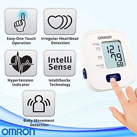 Omron HEM 7120 Upper Arm Automatic Blood Pressure Home B P Monitor Bp Machine Hem 7120 by OMRON: Amazon.es: Salud y cuidado personal