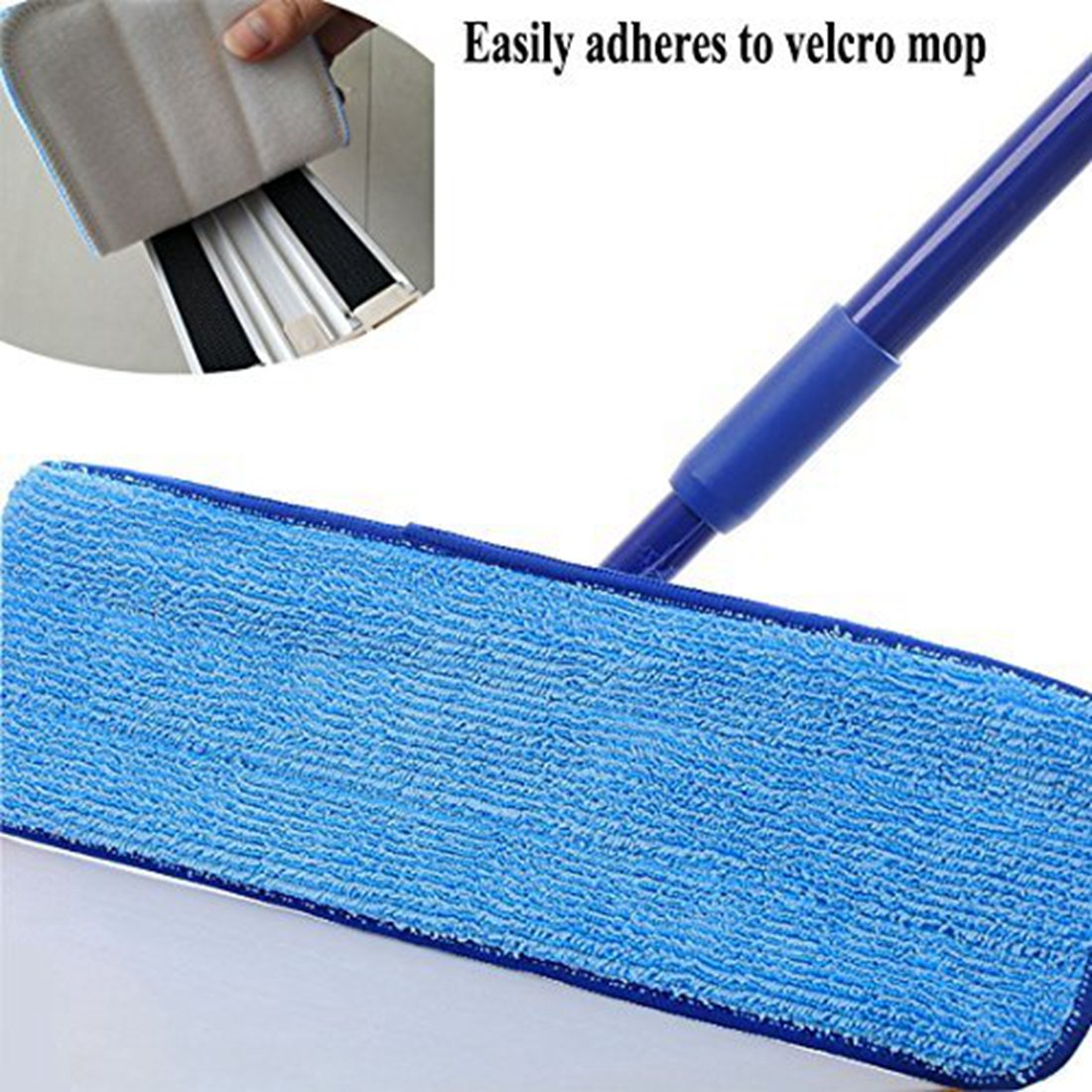 haoun Laminate Hardwood Floor Mop Microfiber Cleaning Pad Replacement Washable (Pack of 10) by Haoun (Image #3)