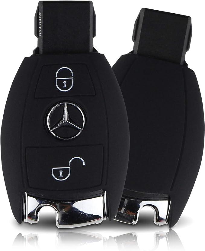 Tapa de la Llave Hecha de Silicona Premium Compatible con Mercedes ...