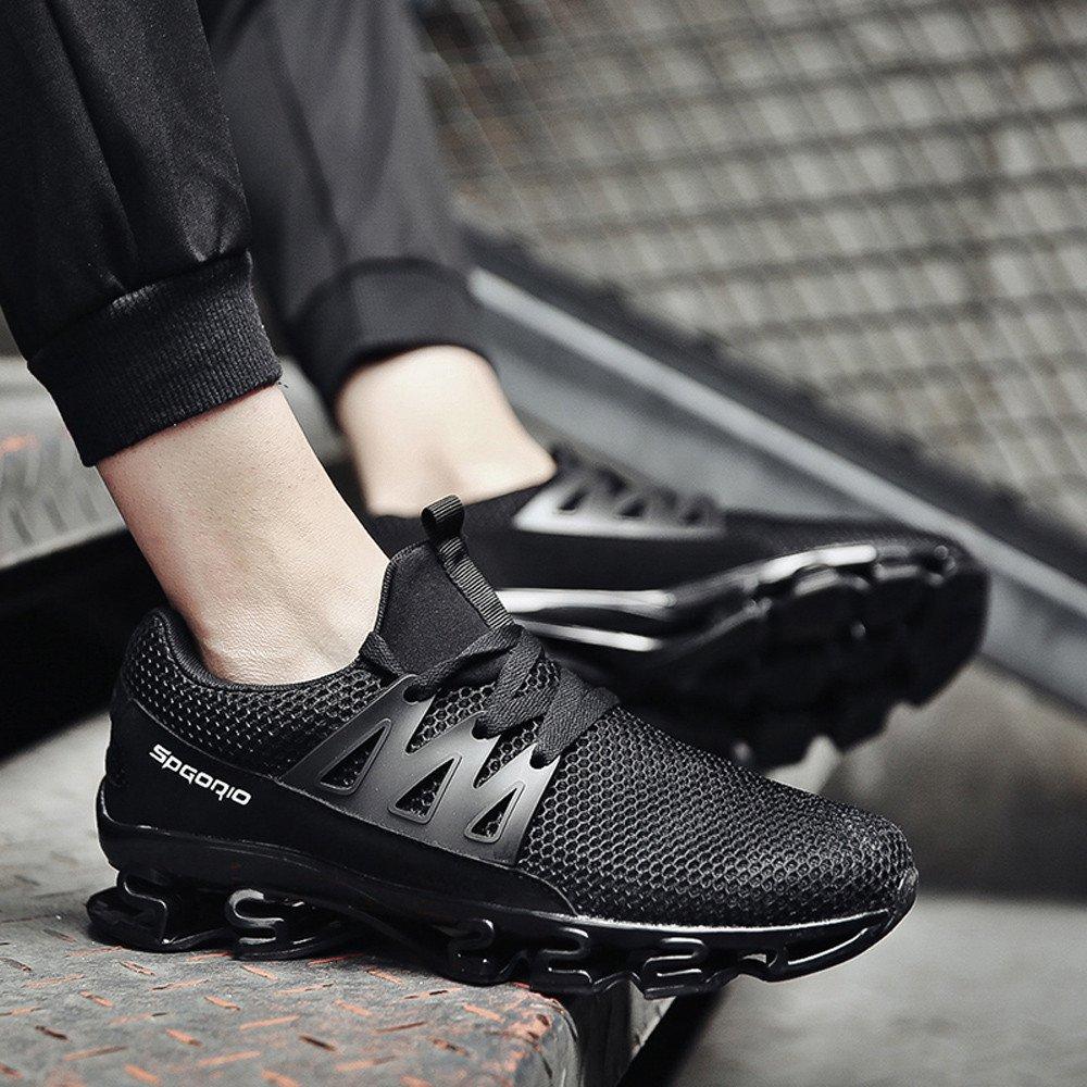 OHQ Zapatillas Deportivos Hombre Sneakers Zapatillas Caminar Casual Slip Blade Zapatillas Deportivas Exteriores Zapatos Deportivos Malla Sandalias Chanclas