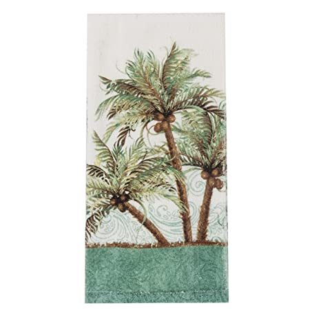 Kay Dee Designs Key West Palm Trees Terry Towel