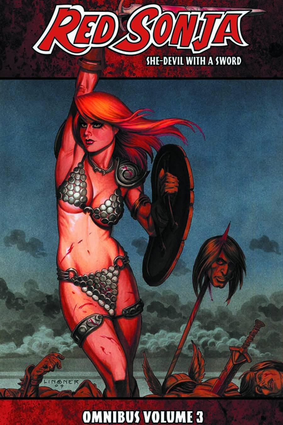 Red Sonja: She-Devil with a Sword Omnibus Volume 3 (Red Sonja Omnibus) pdf