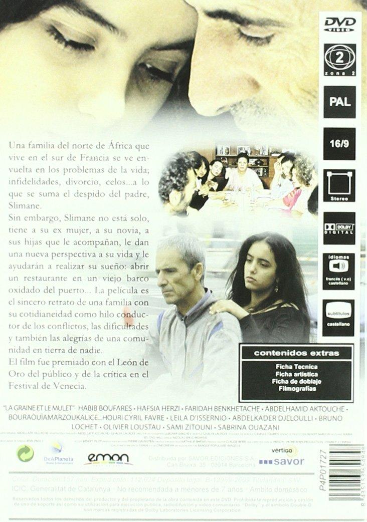 Cuscús [DVD]: Amazon.es: Habib Boufares, Faridah Benkhetache, Abdelhamid Aktouche, Hafsia Herzi, Abdellatif Kechiche: Cine y Series TV
