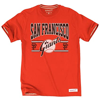 best authentic aa3e2 bf422 Mitchell & Ness San Francisco Giants MLB Early Innings Premium Men's T-Shirt