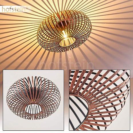 Lámpara de techo Oravi en metal color cobre - Lámpara ...