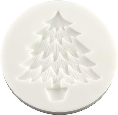 Lavoretti Di Natale Con Il Fimo.Fpc Sugarcraft Stampo In Silicone Con Albero Di Natale Per