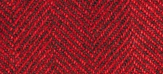 "product image for Weeks Dye Works Wool Fat Quarter Herringbone Fabric, 16"" by 26"", Candy Apple"