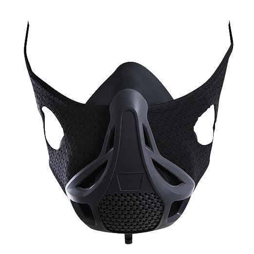 PerformBetter - Máscara de entrenamiento de elevación y altitud, aumenta tu V02 máx.Sistema de entrenamiento para privación de oxígeno para correr, ...