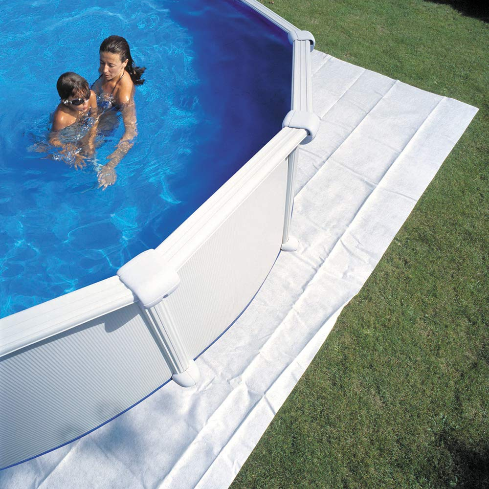 Planet Pool Bodenschutzvlies f/ür Becken 400cm