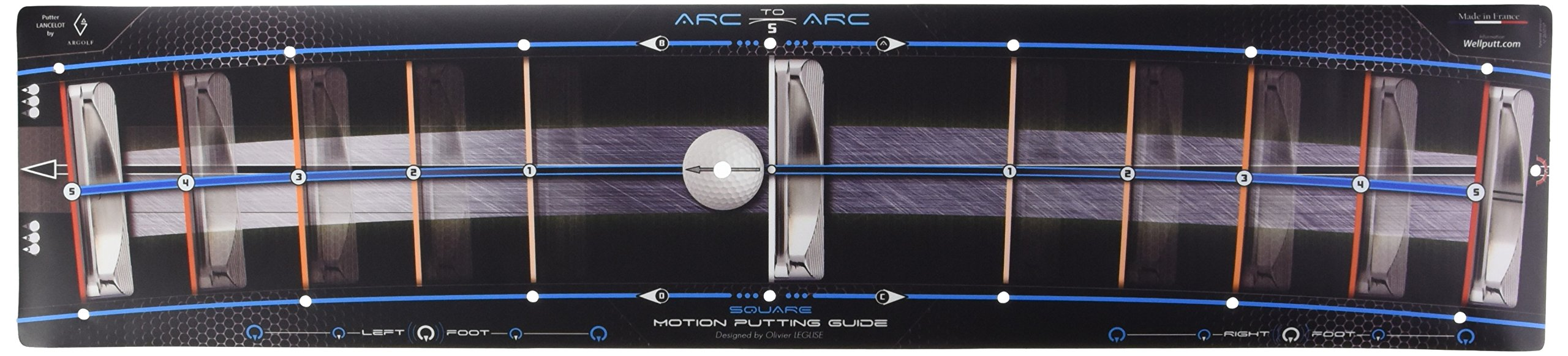 Wellingputt Arc To Arc Golf Training Aid - Square