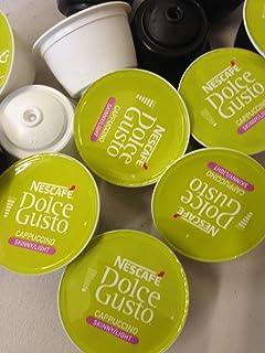 Dolce Gusto cápsulas de 100 Skinny Cappuccino Mix (50 café y 50 leche)