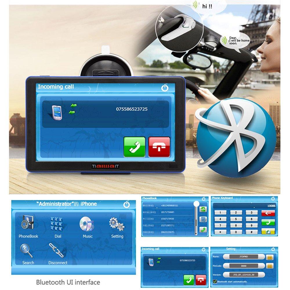 TiaiwaiT Navegador GPS para Coche 7