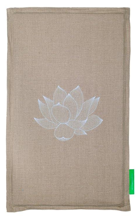 Pranamat ECO Esterilla de masaje (Natural / Turquesa)