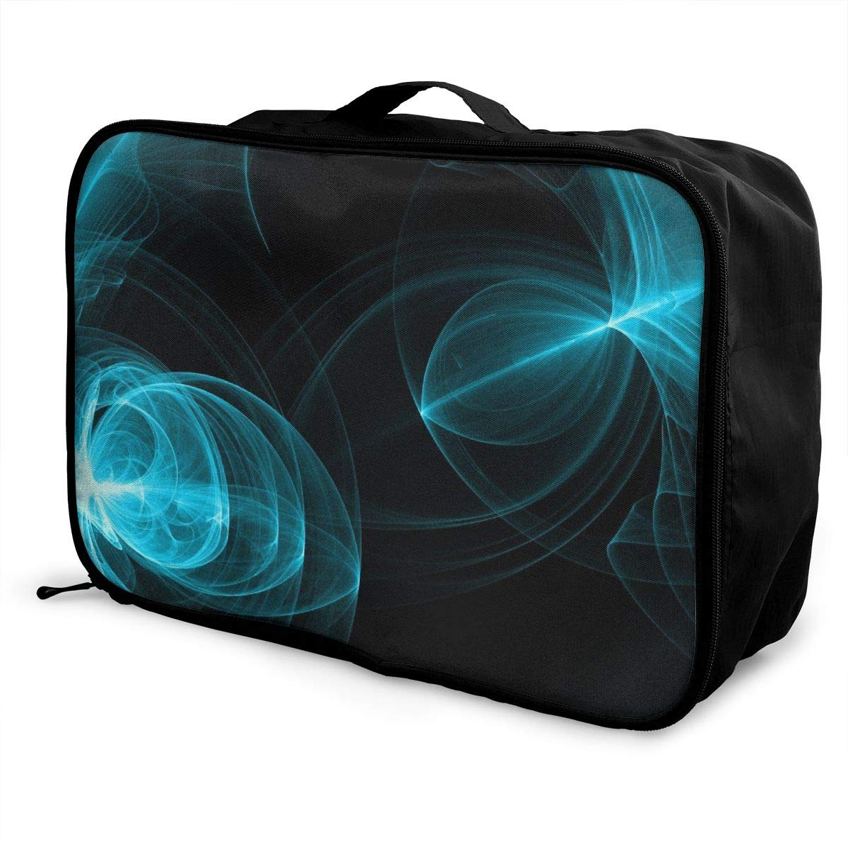 Natural Art Creation Travel Lightweight Waterproof Foldable Storage Carry Luggage Large Capacity Portable Luggage Bag Duffel Bag