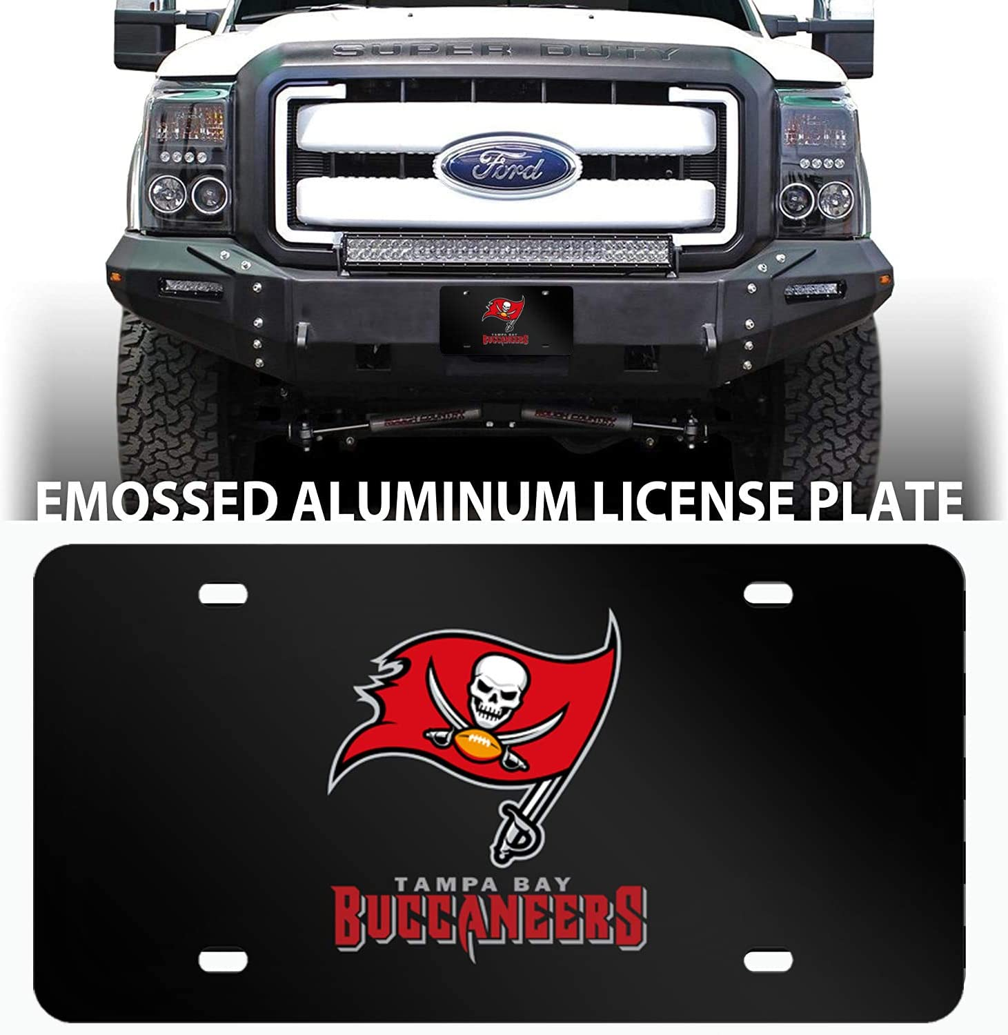 fit San Francisco 49ers yonggan fit 49ers car tag 6 inches x 12 . Suitable for All US Standard car 49ers License Plates,for 49ers License Plate