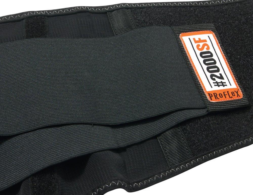 Small Black Ergodyne ProFlex 2000SFHigh-Performance Back Support