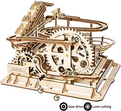 maqueta para montar de madera