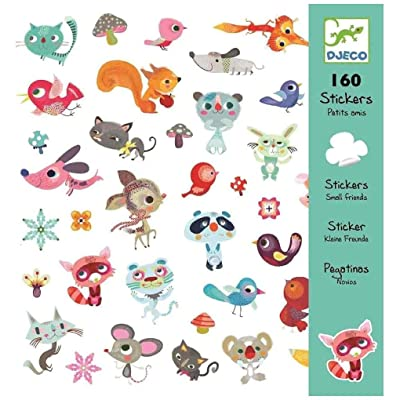 DJECO DJ08842 Stickers-Small Friends Novelty: Toys & Games