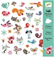 Djeco DJ08842 Stickers-Small Friends Novelty