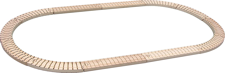 Made in USA Maple Landmark 11120 NameTrain Oval Track Set