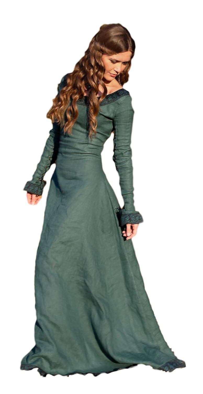 ArmStreet Linen Dress Autumn Princess 10, Green