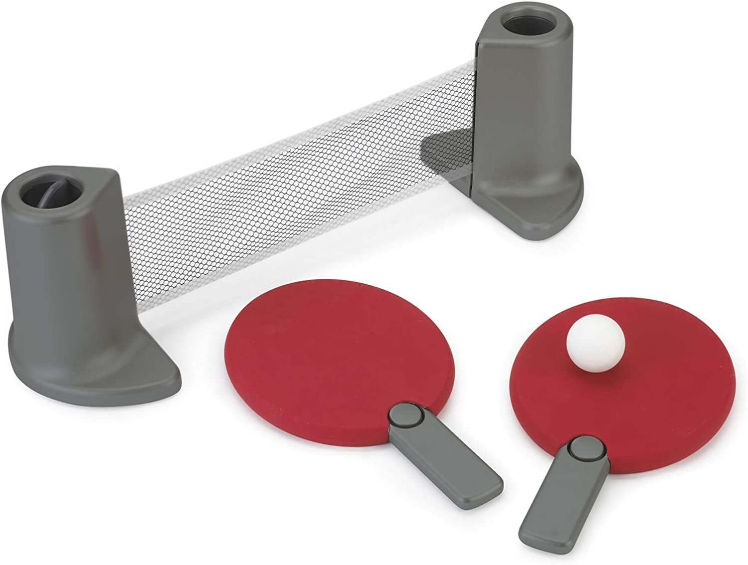 Pongo Table Tennis Set Red/Charcoal: Toys & Games