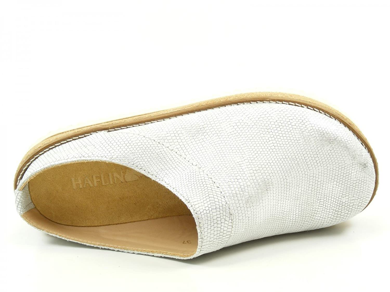 Haflinger 818070 Travel-Clog Neo Unisex Clogs, schuhgröße_1:41  EU;Farbe:Silver: Amazon.co.uk: Shoes & Bags