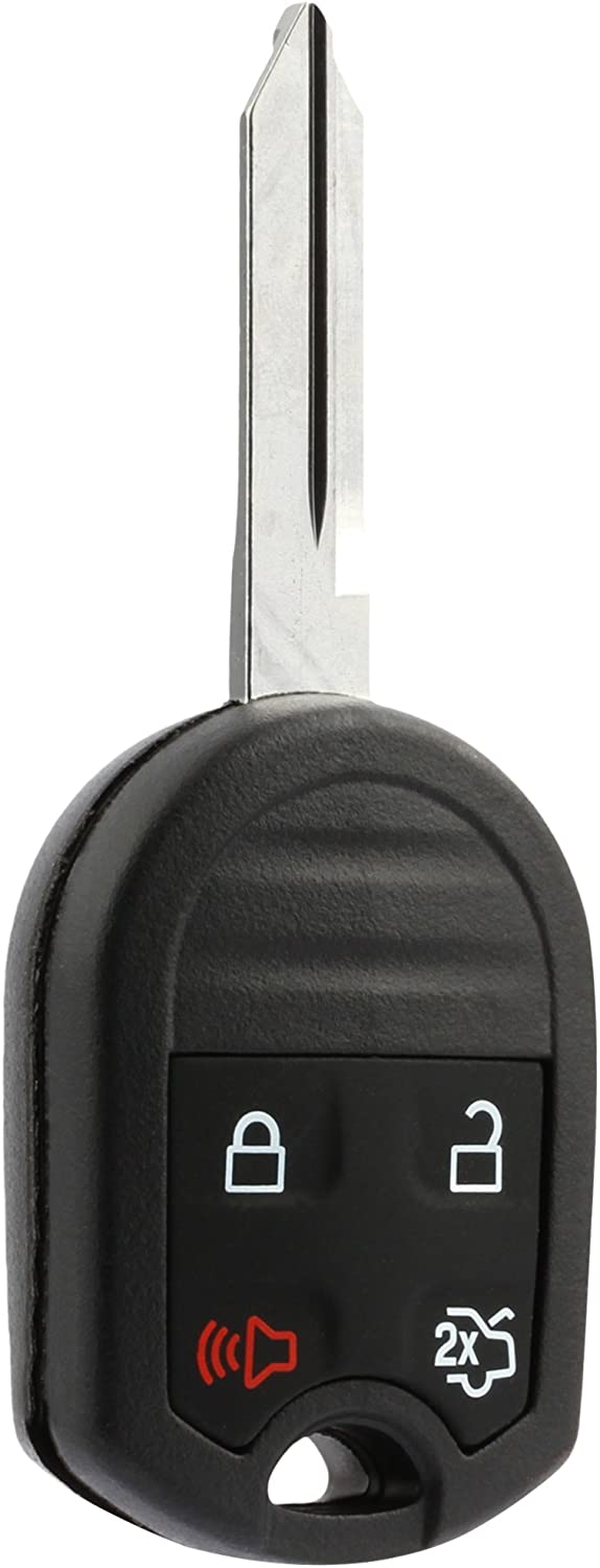 Car Key Fob Keyless Entry Remote fits Ford, Lincoln, Mercury, Mazda (CWTWB1U793 4-btn) - Guaranteed to Program