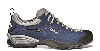 Asolo Shiver Gv Mm, Zapatos de Montaña Hombre, Azul (Blue Aster), 43 2/3 EU