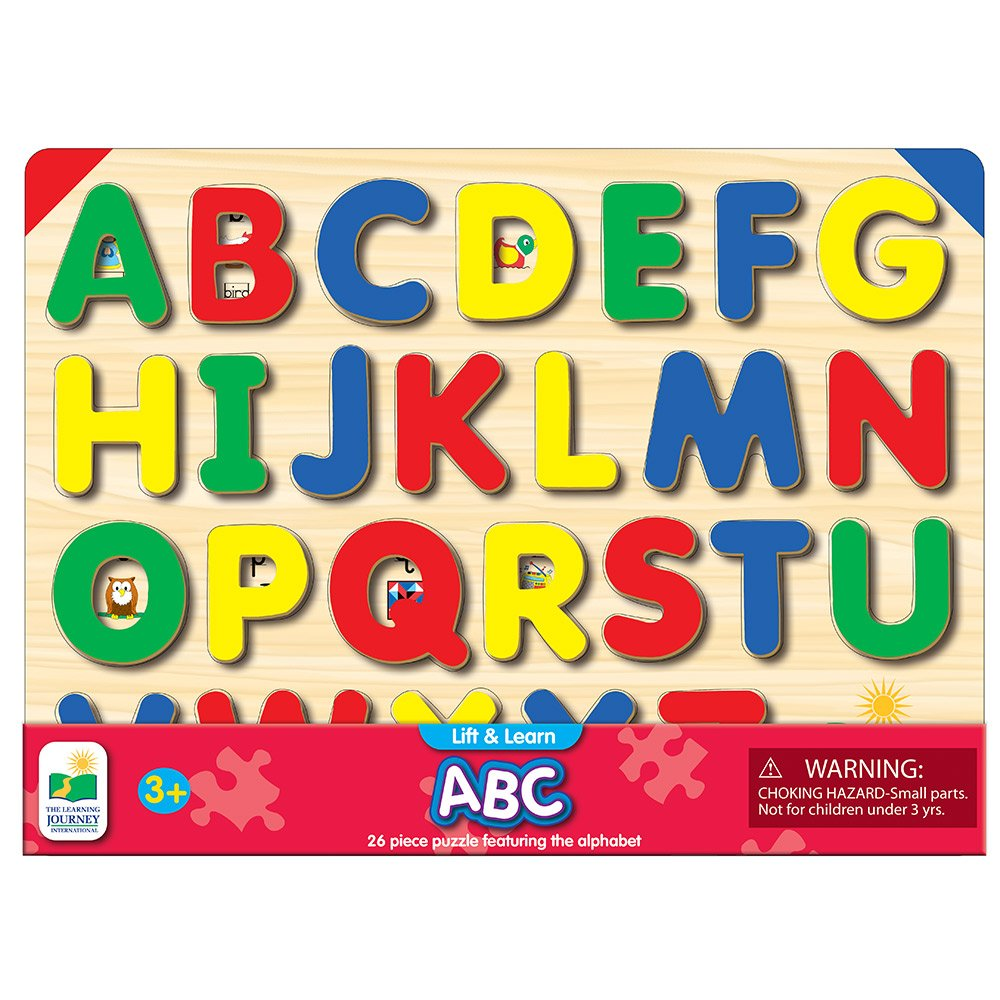 Amazon the learning journey lift learn abc puzzle pictures amazon the learning journey lift learn abc puzzle pictures underneath each piece alphabet and phonics learning toy toys games ccuart Choice Image