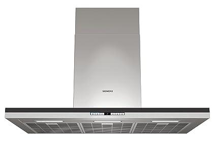 Siemens lc98ba560 wandhaube breite: 90 cm edelstahl led licht