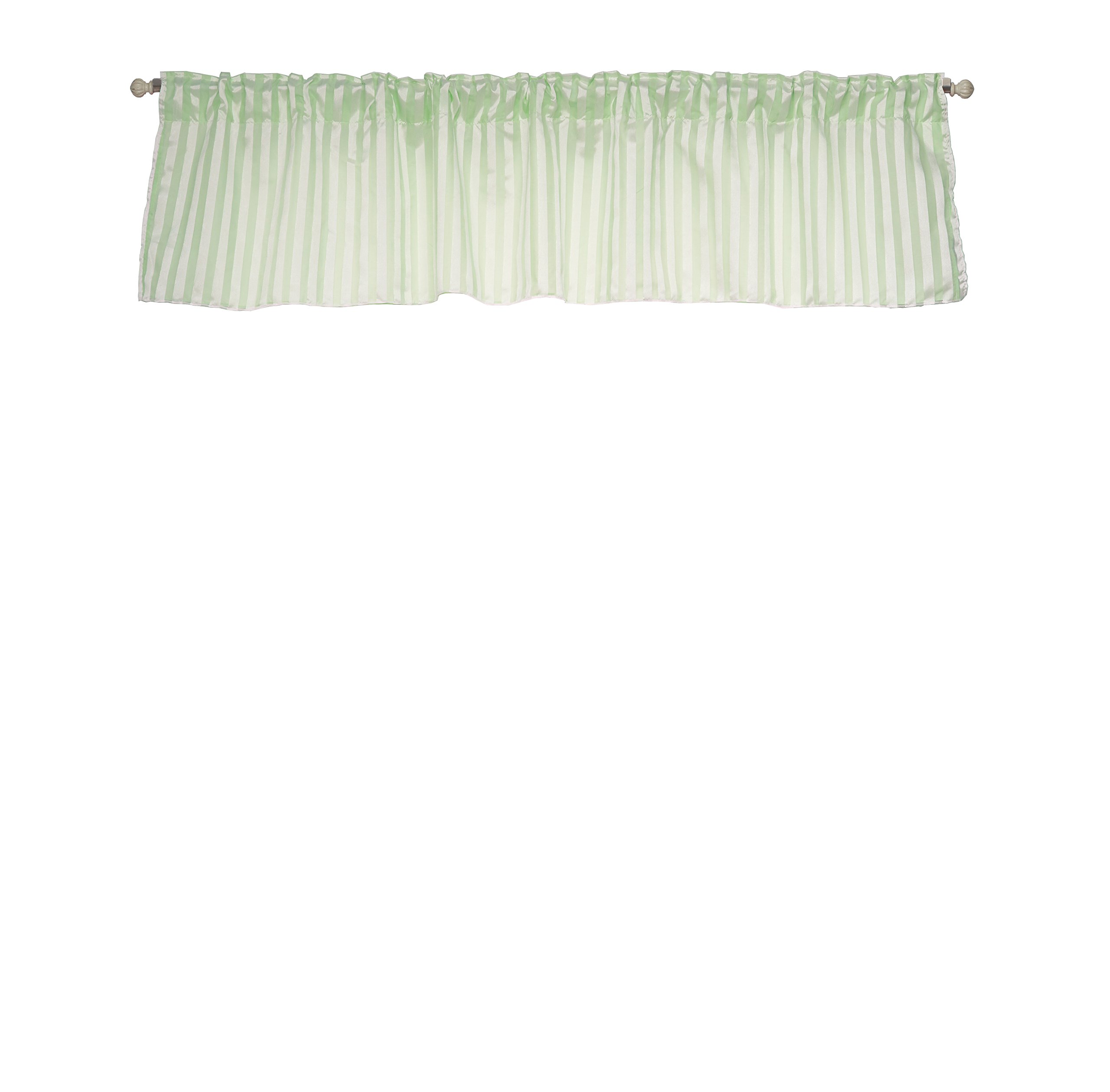 Baby Doll Candyland Window Valance, Mint by BabyDoll Bedding