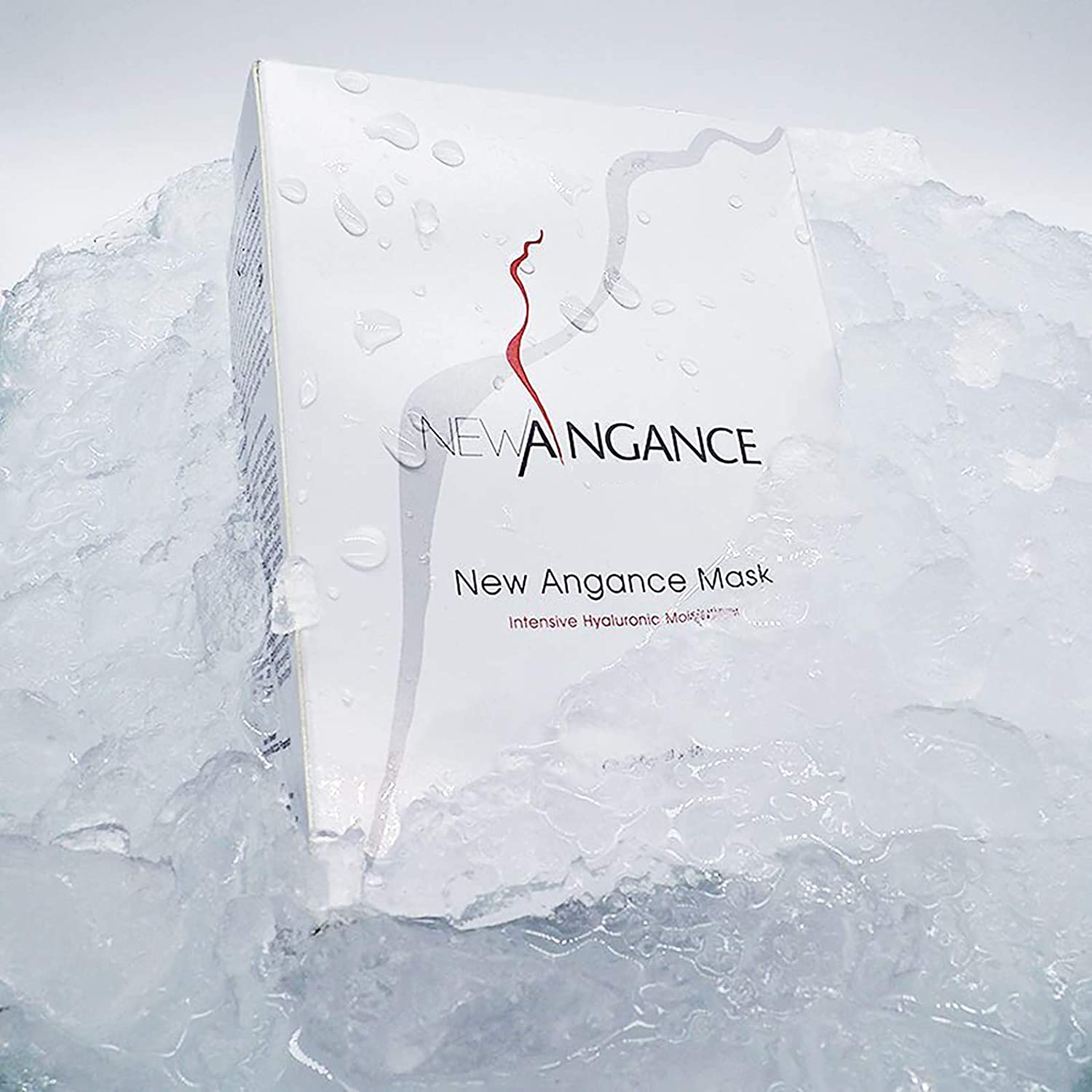 NEW ANGANCE Moisturizing and Hydrating Collagen Sheet Face Mask Skincare with Hyaluronic Acid for Dry, Oily and Sensitive Skin, Suitable for All Skin Types, 10 Pack