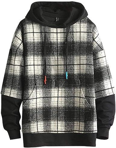 Nouveau Homme Plain à Capuche à Manches Longues Zipup Fleece Sweatshirt à Capuche Chaud Veste Homme