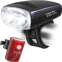 Luz de búho para bicicleta, recargable USB, perfecta para uso en ciudad, montaña y carretera, aumento de seguridad y visibilidad