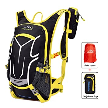 Cycling Backpack Waterproof Bike Shoulder Bag Lightweight Outdoor Sports  MTB Riding Backpack Hydration Compatible for Hiking 19f3e5f7c