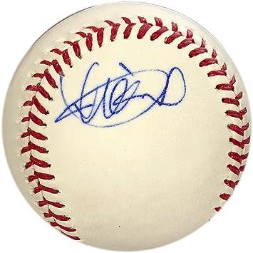 Ichiro Suzuki Autographed Baseball (JSA) at Amazon's Sports ...