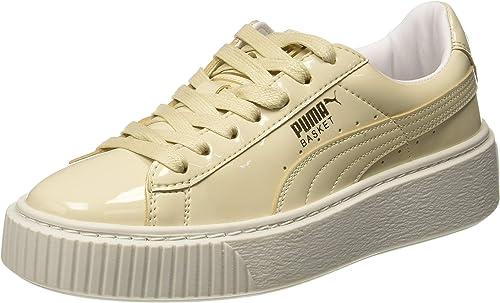 PUMA Damen Basket Platform Patent WN's Sneaker: