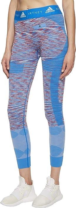 6e5faef51c by Stella McCartney Womens Yoga Seamless Tights Space Dye CF4128. adidas by Stella  McCartney Women's Yoga Seamless Tights Space Dye CF4128 White/Dark ...