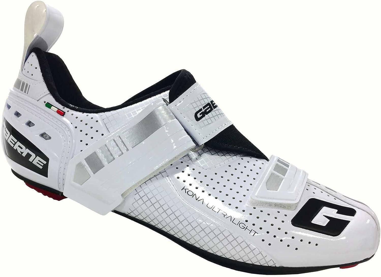 gaerne(ガエルネ) シューズ ビンディング 自転車 ロードバイク トライアスロン Gコナ ホワイト 25.5 3616-004-255