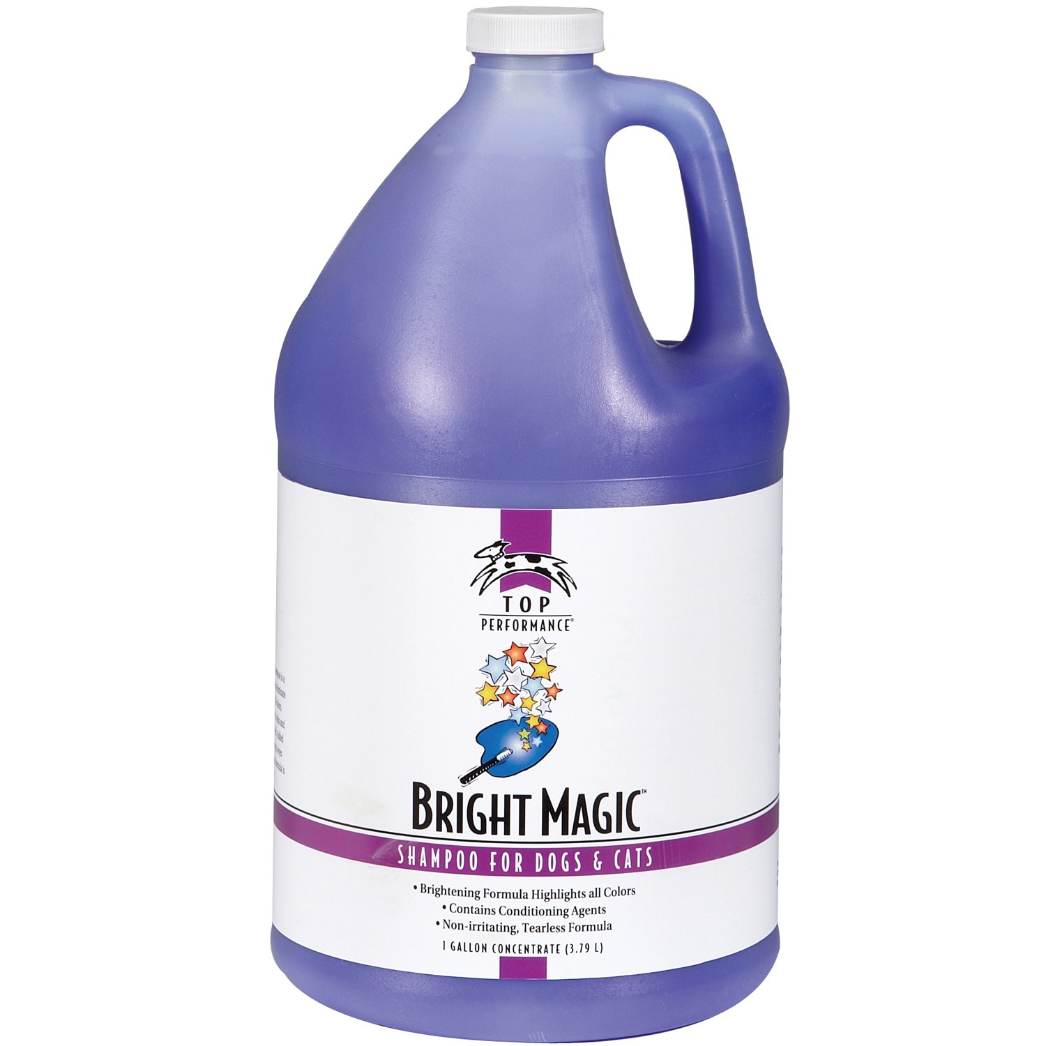 Top Performance Bright Magic Dog and Cat Shampoo, 1-Gallon