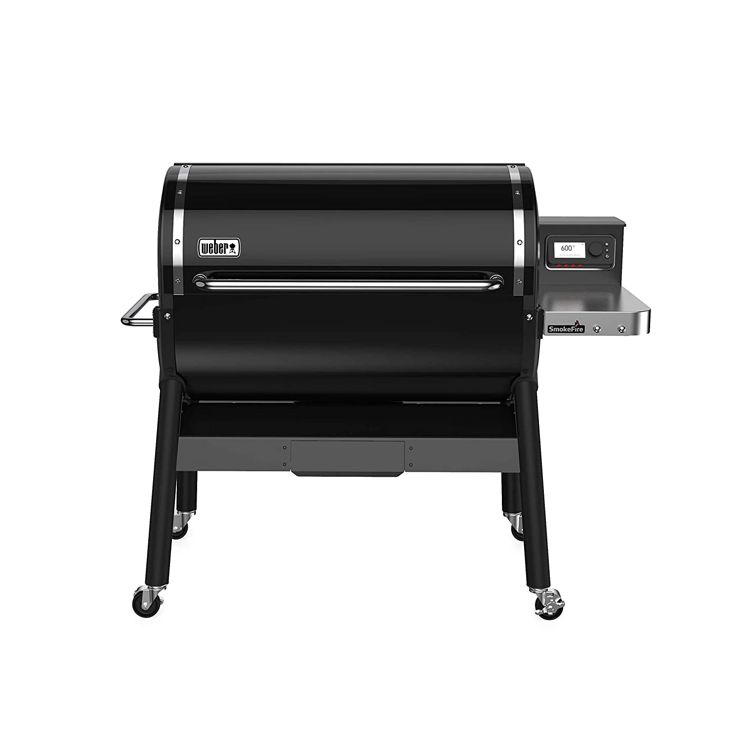 Weber 22510001 SmokeFire EX6 Wood Fired Pellet Grill, Black